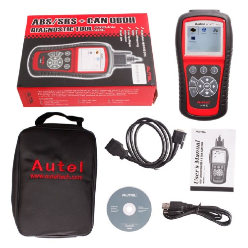 [Free Update] 100% Original Autel AutoLink AL619 ABS/ SRS OBDII CAN Diagnostic Tool Global Free Shipping