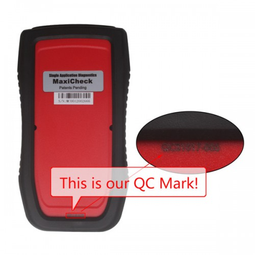 100% Original Autel MaxiCheck Airbag/ABS SRS Light Service Reset Tool