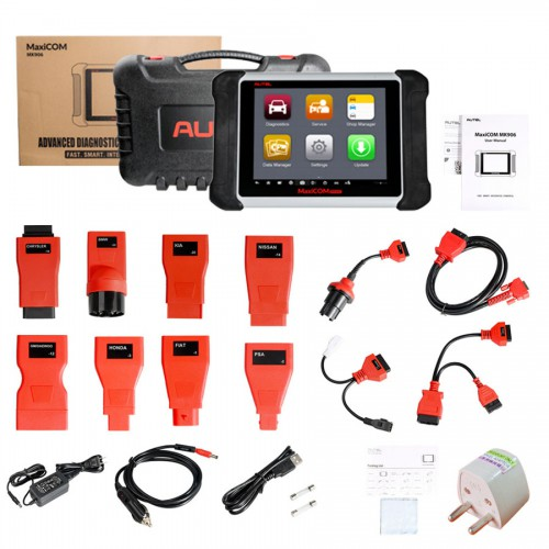 [Multi-Language] Original Autel MaxiCOM MK906 Online Programming & Diagnostic Tool Same As MS906 Free Shipping by DHL