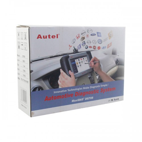 100% Original Autel MaxiDas DS708 Diagnostic Tool Free Shipping
