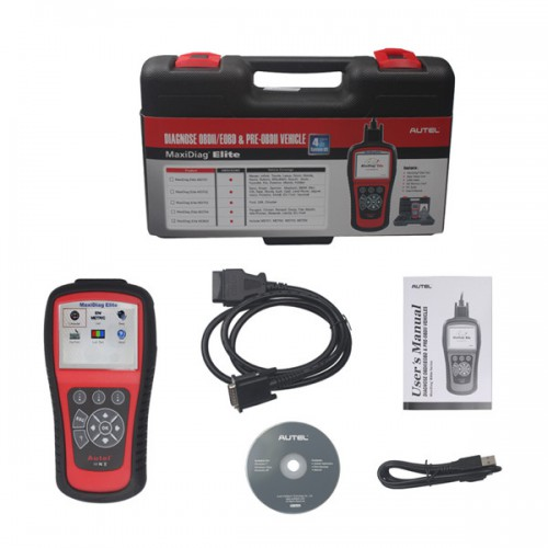 [Free Shipping] Autel MaxiDiag Elite MD802 4 System with Data Stream (including MD701,MD702,MD703 and MD704)