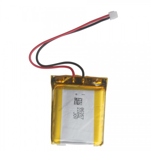 800mAh Lithium Battery with 90mm Female Connect Cable for AutoLink AL539/AL439/AL539B
