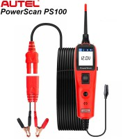 [Anniversary Sale] Autel PowerScan PS100 Electrical System Diagnosis Tool PowerScan PS100 Auto Circuit Battery Tester Easy to Read AVOme Ship from US