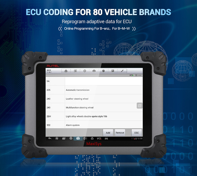 【Special Offer】Original Autel MaxiSys Pro MS908P Full System Diagnostic  with J2534 ECU Programming Box Update Online Support ECU Coding