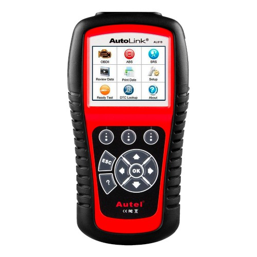 [Ship from US] 100% Original Autel AutoLink AL619 ABS/ SRS OBDII CAN Diagnostic Tool Global Free Shipping