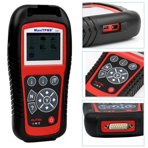 [Ship from US] Original Autel MaxiTPMS TS601 (Global Version) Universal TPMS Diagnostic Service Tool Free Update Online