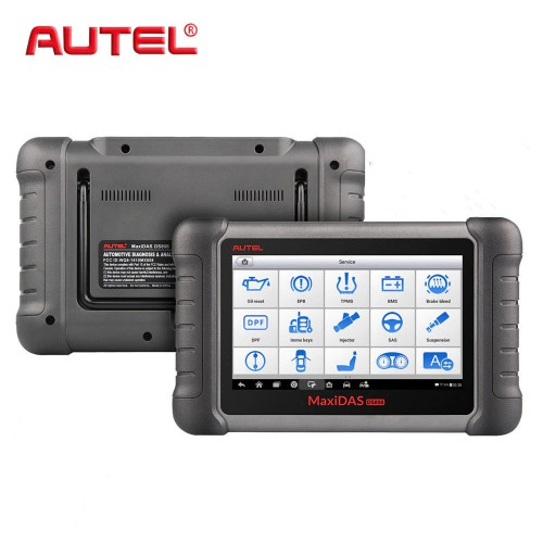 [Basic Version] Original Autel MaxiDas DS808 Auto Diagnostic Tool Support Injector Coding Without OBD1 Cables Free Shipping by DHL