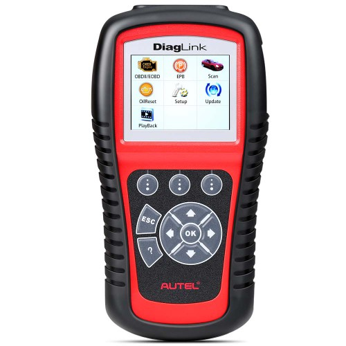 100% Original Autel Diaglink Full Systems Diagnostic Scanner DIY Version of MD802 for Family DIYers