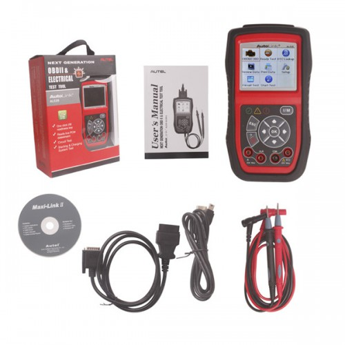 [Free Shipping] Autel AutoLink AL539 OBDII/EOBD/CAN Scan and Electrical Test Tool