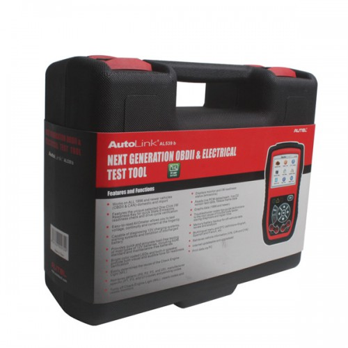 Original Autel AutoLink AL539B OBDII Code Reader & Battery Test Tool