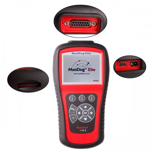 [Free Shipping] Autel MaxiDiag Elite MD701 Full System with Data Stream Asian Vehicle Diagnostic Tool
