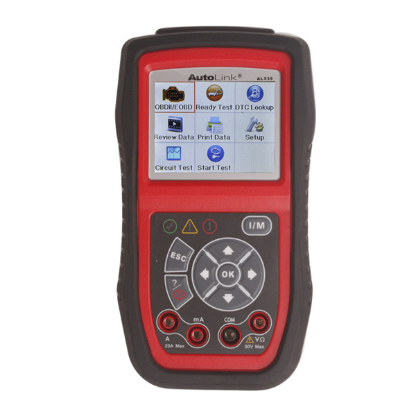 Original Autel AutoLink AL539 OBDII/CAN Scan Tool Ship from US