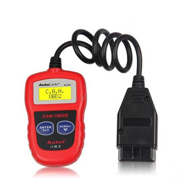 Autel AutoLink AL301 OBDII CAN DIY Code Reader Ship From US Free Shipping